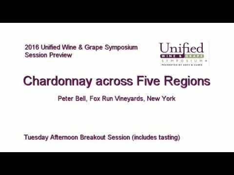 Chardonnay across Five Regions